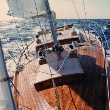 She sails! First sail to Monterey from Santa Cruz