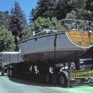 Shanachie trucked to Santa Cruz