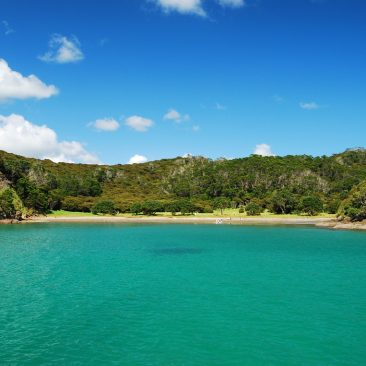 One of our favorite anchorages, off Moturua Island