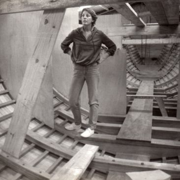 """Early bulkheads, and, an early lesson for Nancy about """"where boats come from"""""""